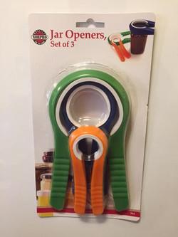 Set of 3 Jar Openers