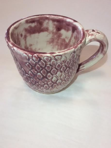 Maroon Diamond Mug