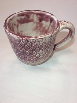 Maroon Diamond Mug