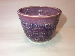 Purple Aztec Bowl