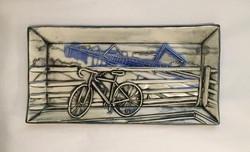 Bike Bridge Platter