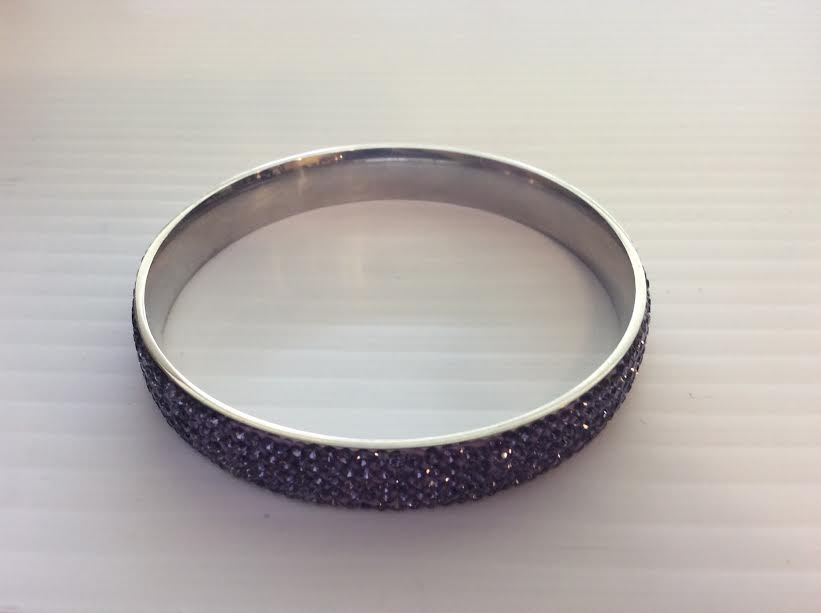 Purple Gem Bangle