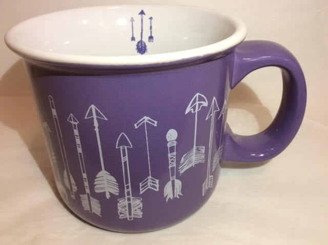Purple Arrow Mug