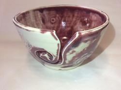 Maroon Yarn Bowl