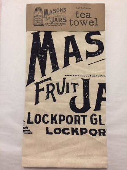 Mason Fruit Jar Tea Towel