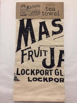 Mason Fruit Jar Tea Towel