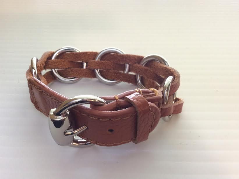 Rust Leather Buckle
