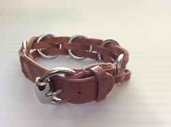 Rust Leather Buckle