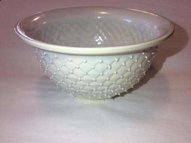 White Spike Bowl