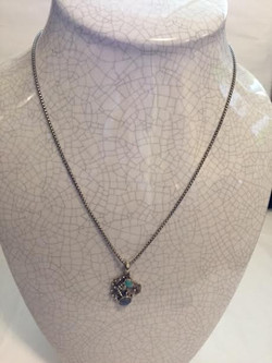 Turquoise & Moonstone Necklace