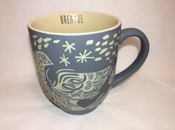 Matte Gray Dove Mug