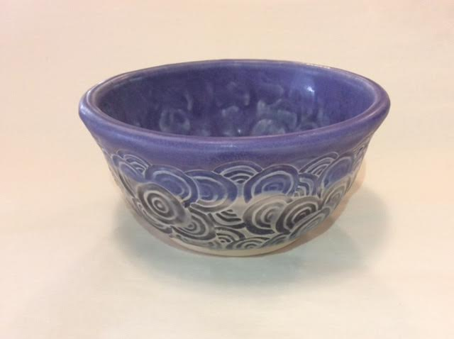 Blue Circles Bowl