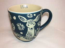 Matte Navy Deer Mug