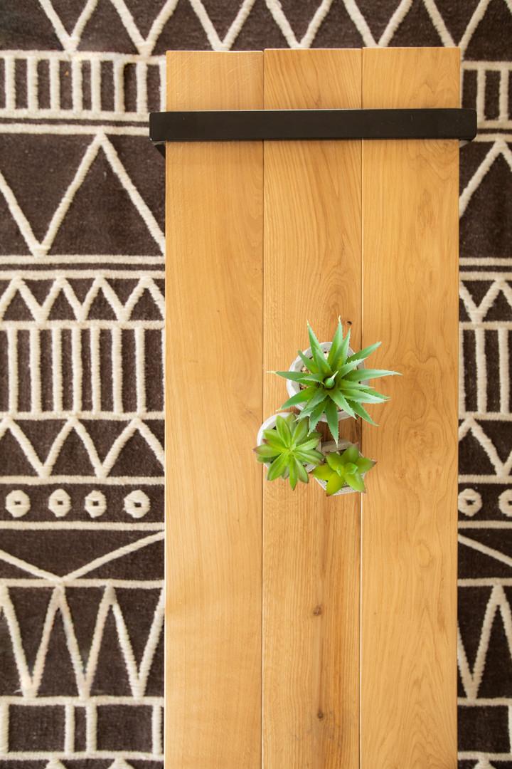 שטיח בטקסטורה שבטית