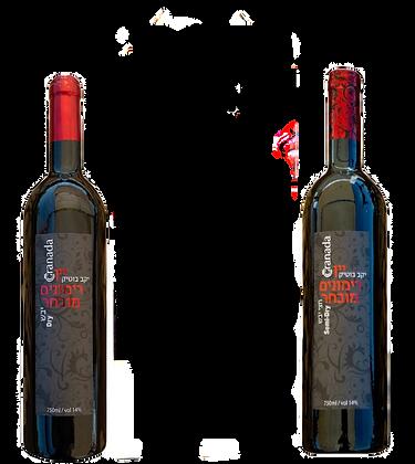 מארז שי לחג - 2 בקבוקים באריזת מתנה