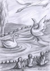 Swan Lake I RUTH GROSSMAN