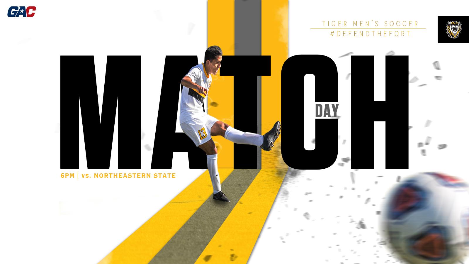 Men's Soccer match day for social