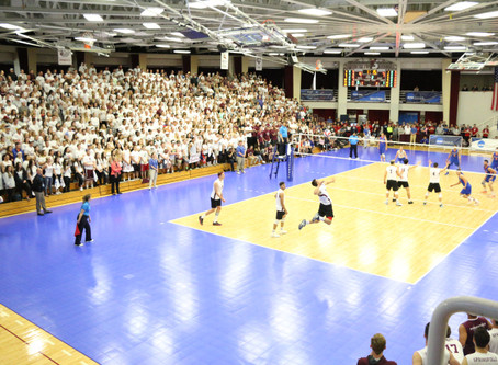 Springfield College men's volleyball wins Div. III National Championship in front of an excited Blak