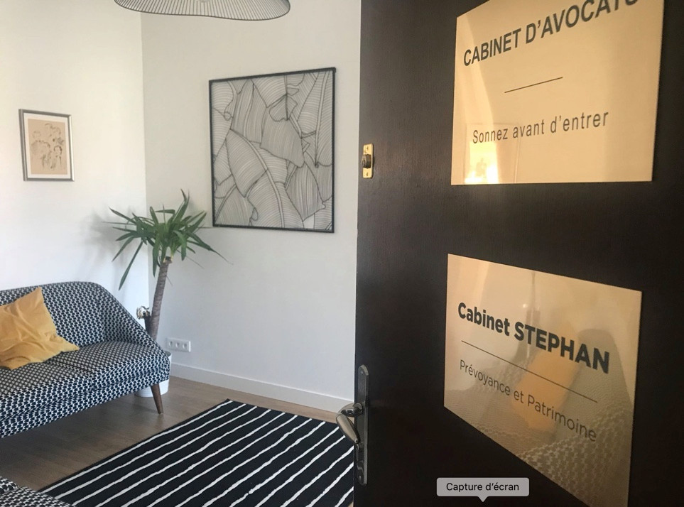 Cabinet Stpehan Bayonne