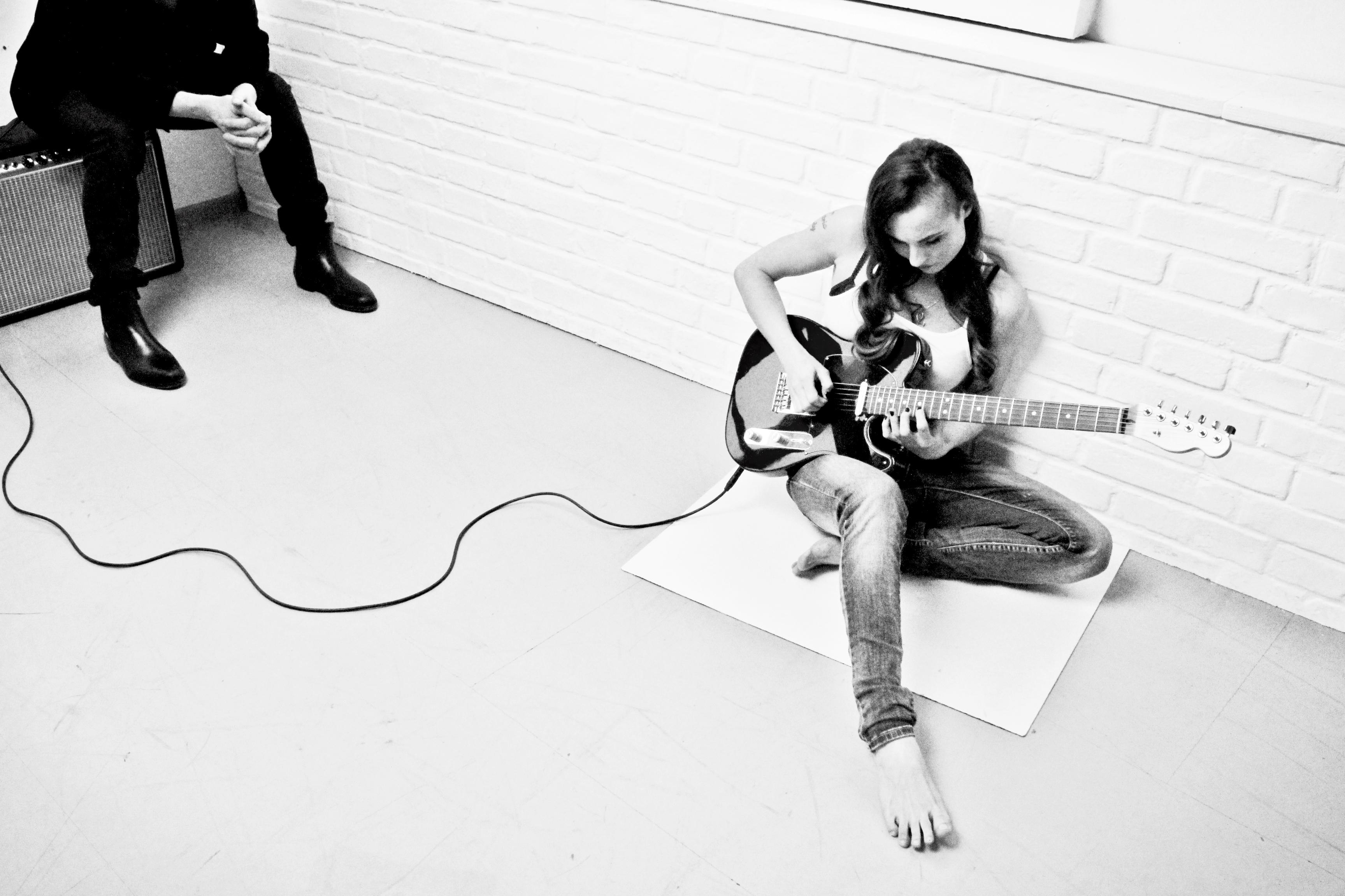 Točení kytarového sóla A Part Of My Heart