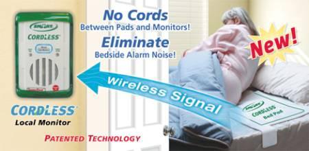 HealthSaver Smart Caregiver cordless fall monitors