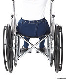 Jeans for wheelchair users