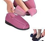 Slippers for swollen feet or arthritic fingers