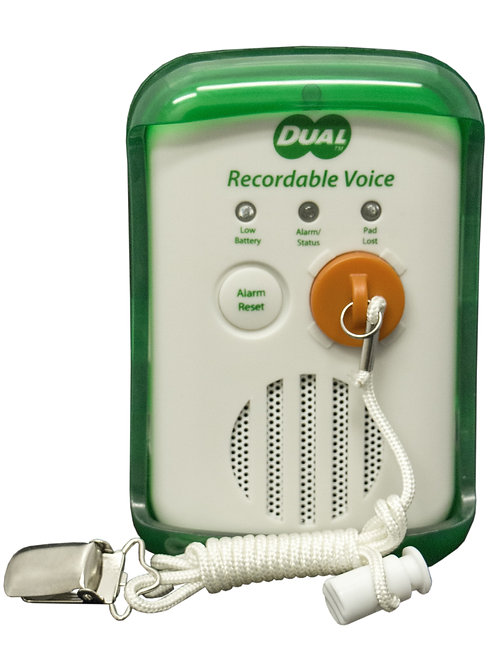DUAL Recordable Voice Fall Monitor