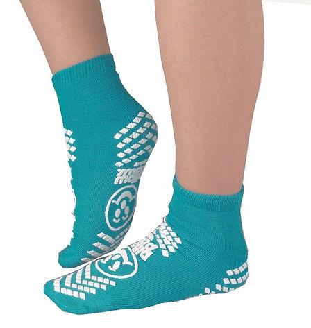 Pillow Paws non slip socks on feet