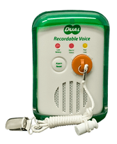 recordable stand up alarm monitor