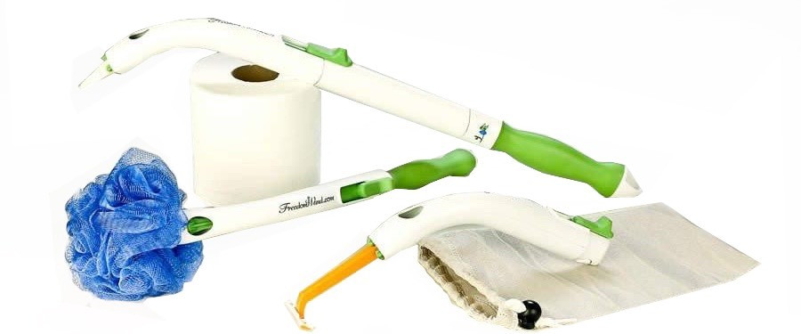 Freedom Wand Toileting and showering aid