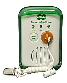 Recordable Fall alarm