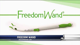 Freedom Wand bum wiper for disabled