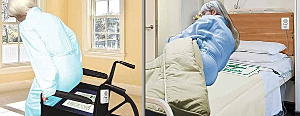 Stop seniors falling when standing up from a wheelchair or getting out of bed