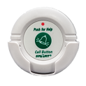 The 433-NC Wireless Nurse Call Button allows individuals to signal caregivers for assistance remotely with push-button activation and comes standard with necklace lanyard and plastic wall-mounting cradle.