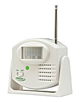 The Smart Caregiver TL-5102MS is a stand-alone motion sensor that allows you to eliminate in-room alarm noise.  The Motion Sensor is placed in a doorway or by the bedside and when motion is detected, a silent wireless signal is sent to the caregiver alert of your choice. If you would like it to alarm in one central location the 433-CMU Central Monitoring Unit is a great choice for a nurses station. If you would like to carry the alarm with you to be notified on the go around the facility or home, the 433-EC would be you best option.