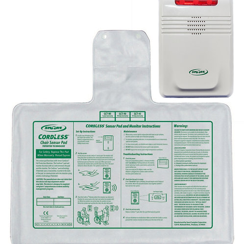 Cordless Chair Pad & Monitor Kit 1