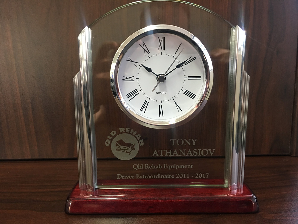 Tony' retirement clock