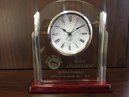 Tont Athanasiov's Retirement