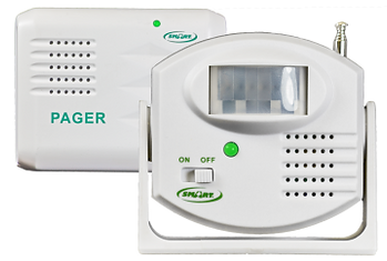 fall prevention alarm motion sensor with pager