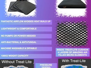 Australia - Meet The Amazing Treat-Lite Pressure Sore Prevention Cushion