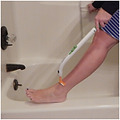 Shaaving legs with Freedom Wand - Easy - No Bending Required