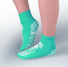 Non slip socks double imprint