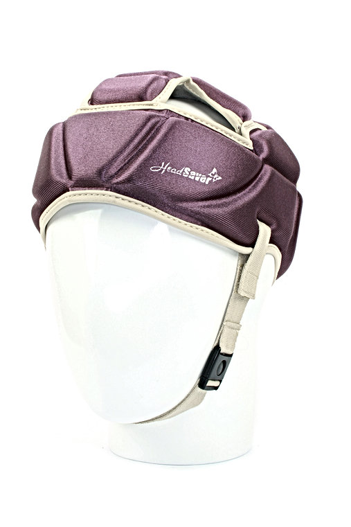 HeadSaver soft head protector close up