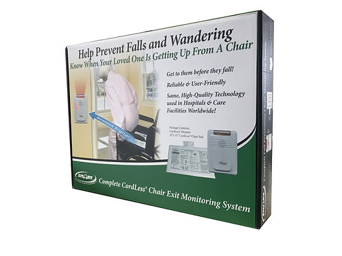 Complete Cordless Chair Exit Monitoring System