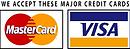 We accept mastercard and visa nd paypal