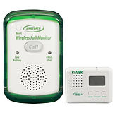 Fall Alarm Monitor and Caregiver Pager