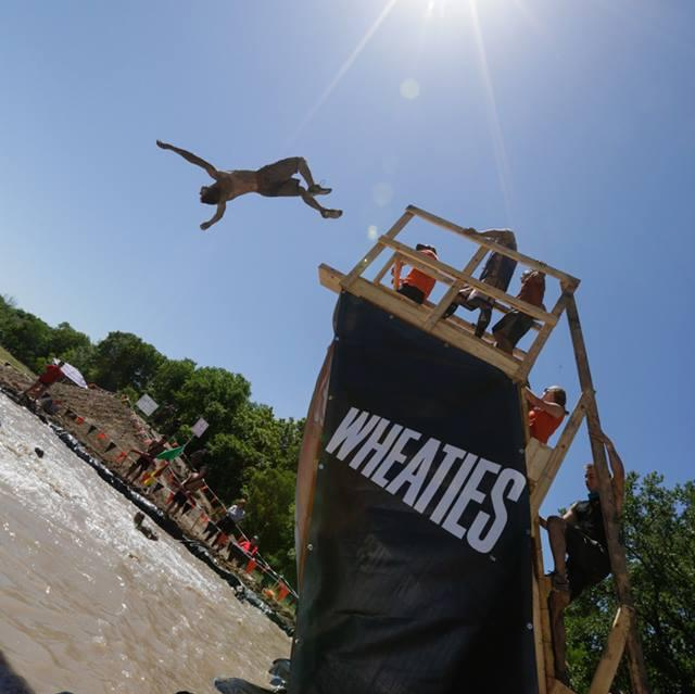 Tough Mudder Free Jump!!