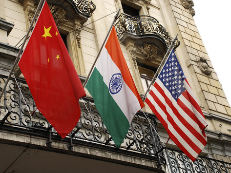 Power and Perception: Understanding the China-India-U.S. Triangle