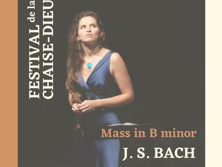 My very first b-minor Mass!